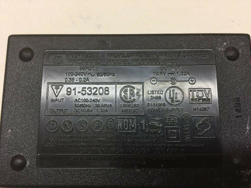 HP Worldwide Power Adapter Charger Model 0950-2435 Hewlett Packard