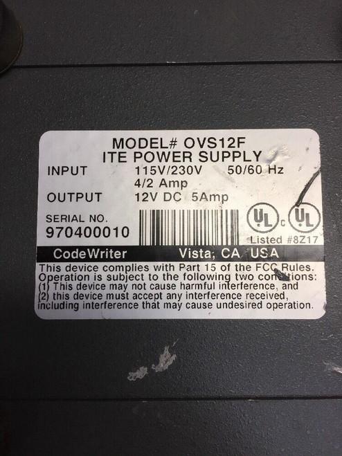 Code Writer OVS12F ITE Power Supply