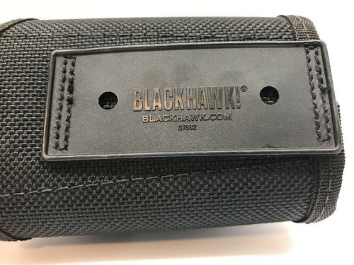 Handcuff Accessory Case Black Belt Mounted C1382 Tactical Law officer Blackhawk