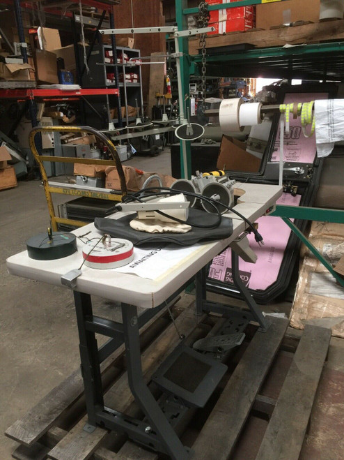 """Sewing Machine Model 695HEX-05/H35 Consew 695HEX """"C"""" Series w/ Table"""