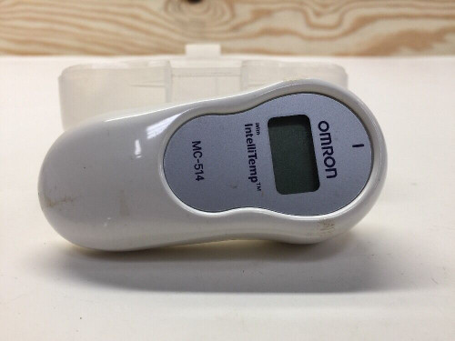 IntelliTemp Ear Thermometer MC-514 Omron Lot of 8 - With Case