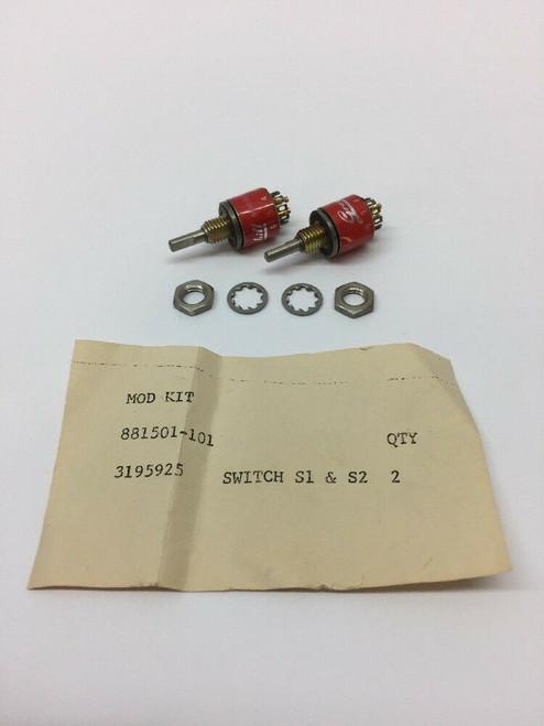 Modular Switch Kit 881501-101 Grayhill Lot of 2
