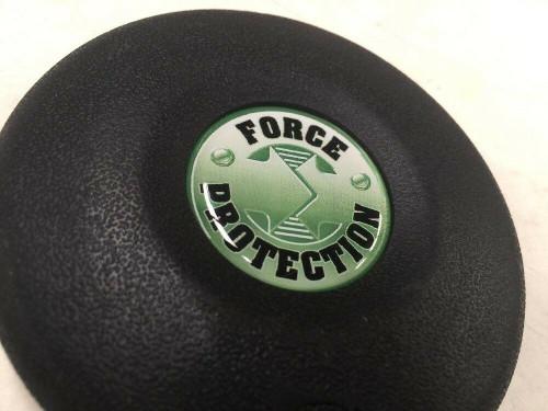 "Vehicle Horn Button 1000835 Force Protection 3 1/2"" Diameter Mrap Cougar Fmtv"