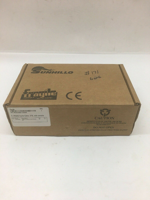 4x RS232 Hydra Cable 160Q0620 SunHillo DTE With Console