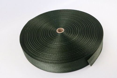 """Webbing Green Nylon Strapping Strap Outdoor 175 Yards x 2"""" W"""