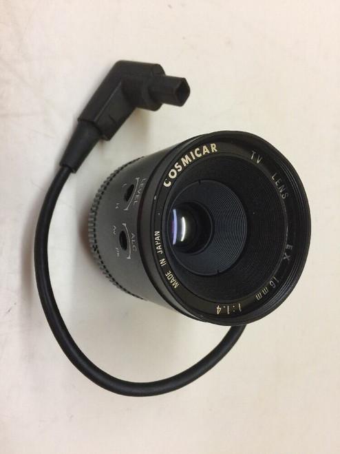 Cosmicar TV Lenses EX 16mm 1:1.4