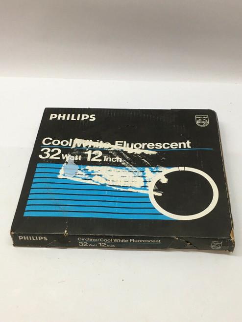 "Fluorescent Light Bulb 262600 Philips T9 Circline Daylight Deluxe 32 Watt 12"""