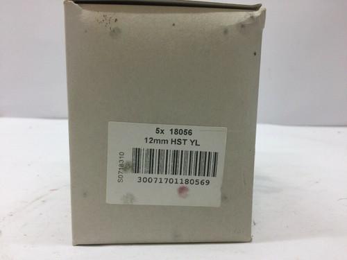 Wire Marker 18056 Dymo Rhino Tape Cassette, Heat Shrinkable Sleeve, PO Pack of 5