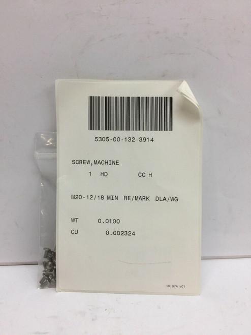Machine Screw 33-015693-101 Northrop Grumman Systems Steel Lot of 100