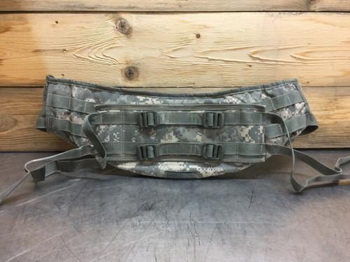 Molle II Molded Waist Belt 8465-01-524-7232 ACU Camouflage Military Surplus