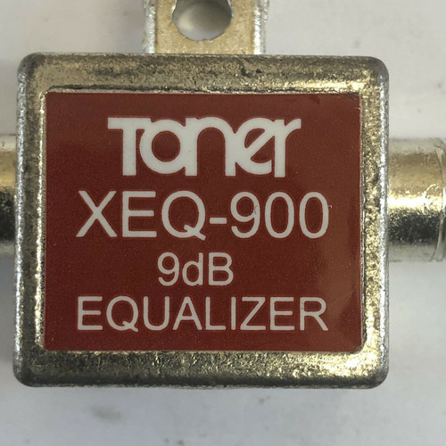 Miniature In-Line Equalizer XEQ-900-9DB Toner