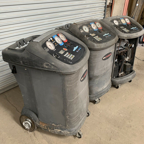 Refrigerant Recovery Machines 17800B Robinair Lot of 3 (For Parts)