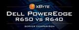 Dell PowerEdge R650 vs R640 Server Comparison