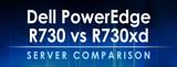 Dell PowerEdge R730 vs R730xd Server Comparison