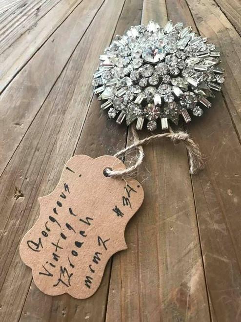 Statement Piece Vintage Brooch Pin