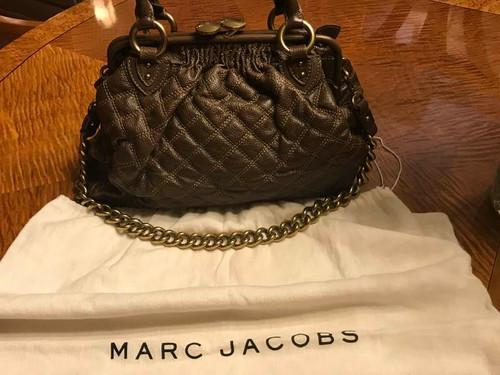 Designer Marc Jacobs Quilted Stam Handbag