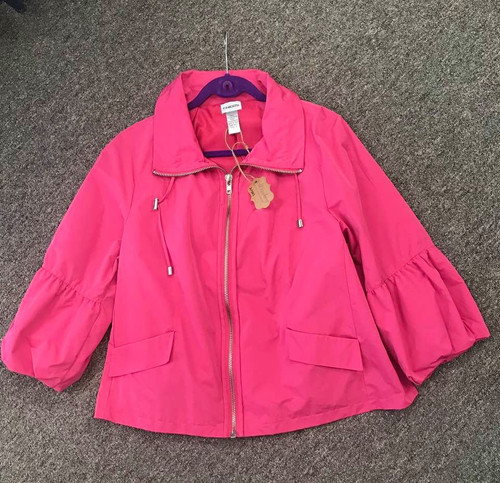Hot Pink Jacket by Chicos