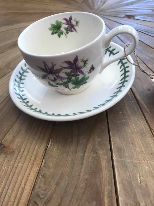 Portmeirion Tea Cup and Saucer