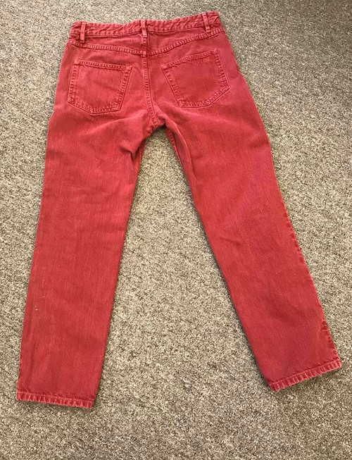Quality Isabel Etoile Red Denin Jeans