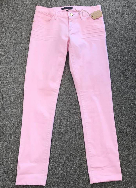 Juicy Couture Pink Skinny Denim Jeans, Size 28, Retail $158