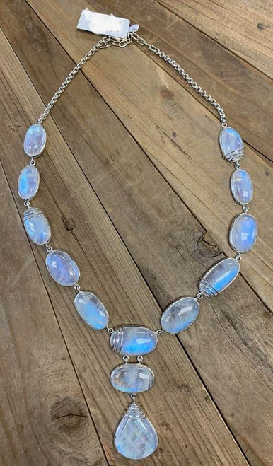 Stunning High Quality Moonstone Necklace
