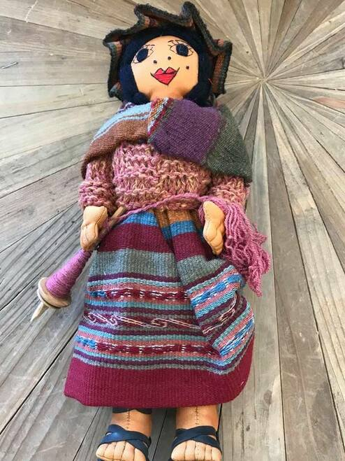 Ethnic Peruvian Doll