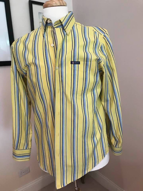 Chaps Easy Care Mens Shirt, Size Small
