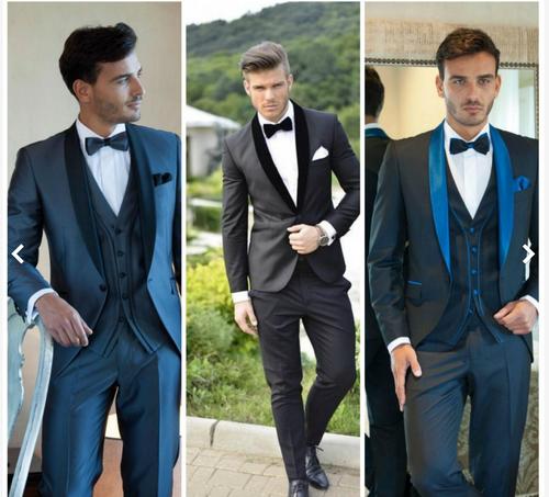 Mens Tuxedo by Joseph Aboud, Black, 46 Jacket, 36-39 Pants