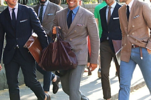 Mens Jacket by Mani Giorgio Armani, Wool, 46L