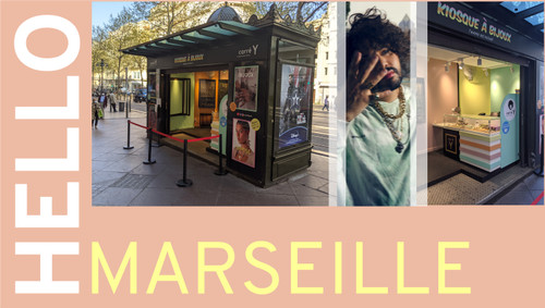 Le kiosque à bijoux Carré Y : Une nouvelle expérience shopping à Marseille !