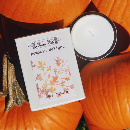 Pumpkin Delight Soy Candle