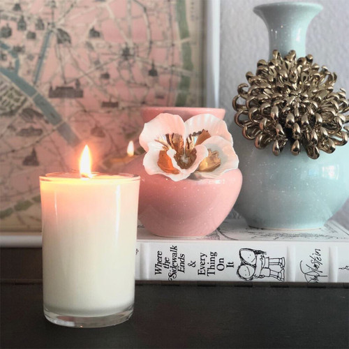 Midnight In Paris Soy Candle Natural soy wax candle, hand poured in small batches. An artisan soy wax candle of the highest quality.