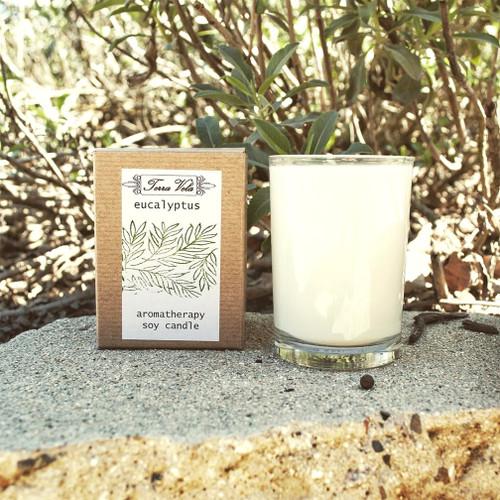 Eucalyptus - Aromatherapy Soy Candles