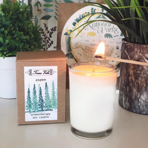 Crisp and clean Fir Needle and Balsam essential oils fills this invigorating candle scent. Close your eyes and be transported to a beautiful snow covered mountain forest.