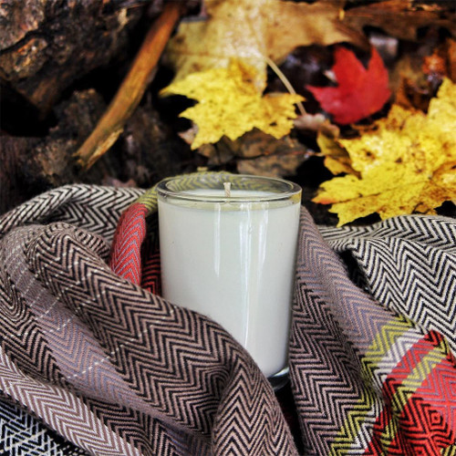 The Flannel Soy Candle Natural soy wax candle, hand poured in small batches. An artisan soy wax candle of the highest quality.