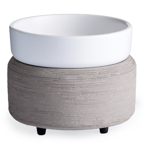 Wax Melter White on Gray Texture 2-in-1 Classic