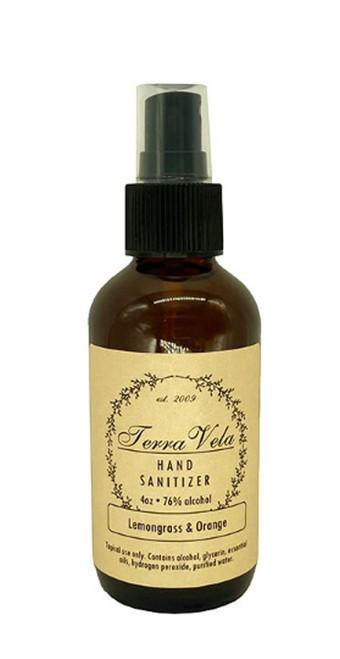 Orange & Lemongrass Hand Sanitizer Spray