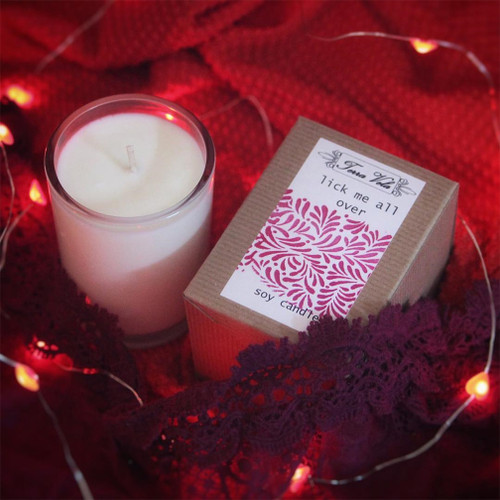 Natural soy wax candle, hand poured in small batches. An artisan soy wax candle of the highest quality.
