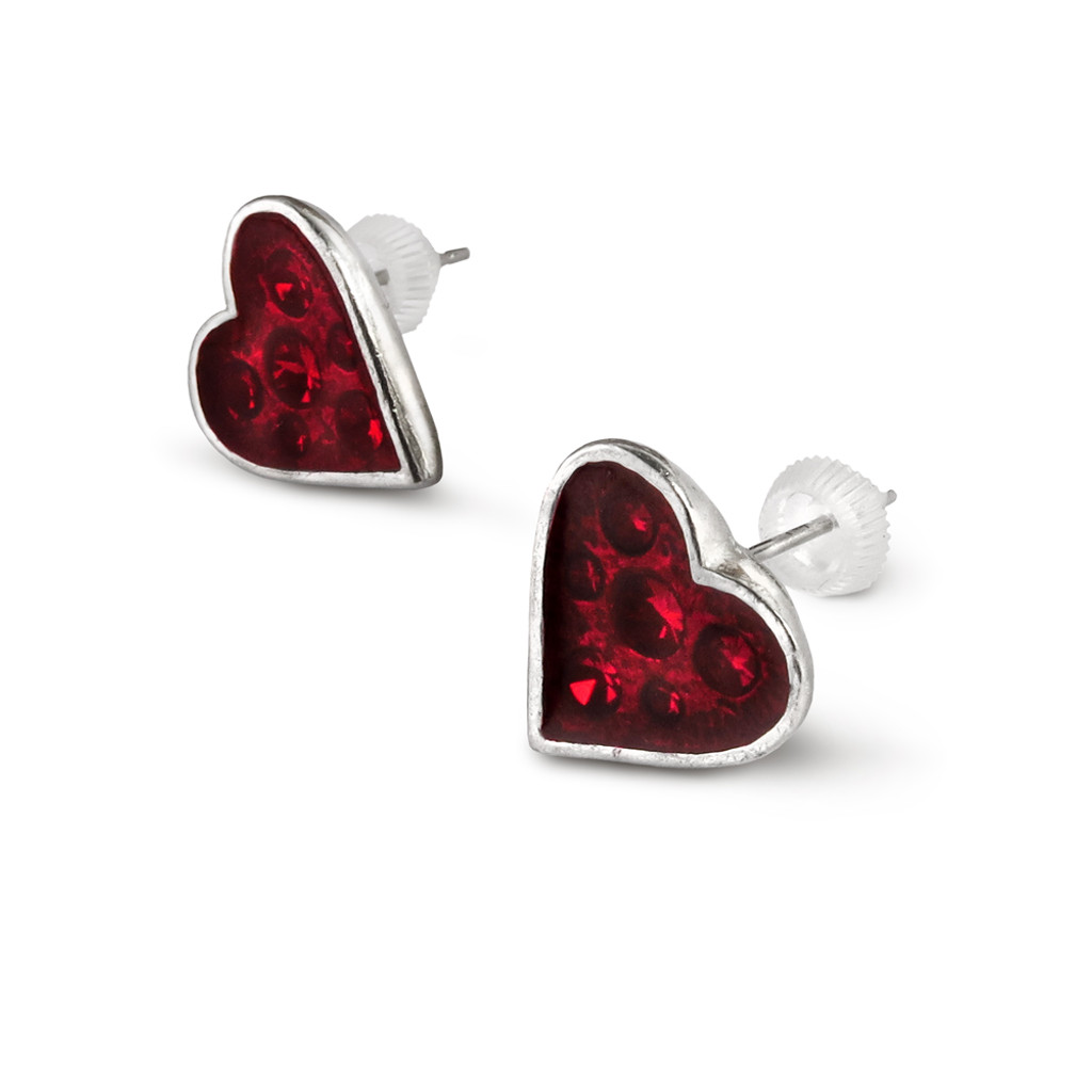 E332 - Heart's Blood Earrings