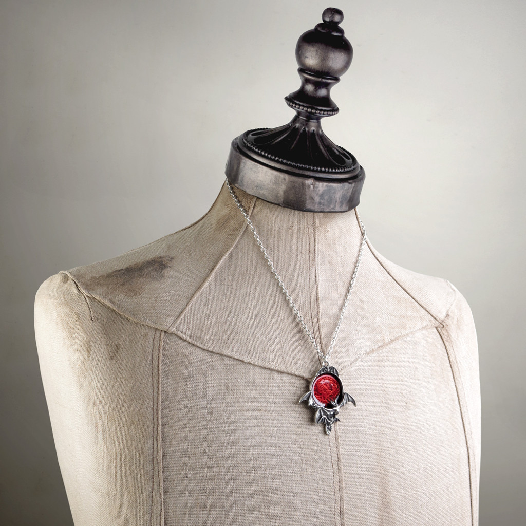 P447 - Blood Moon Pendant