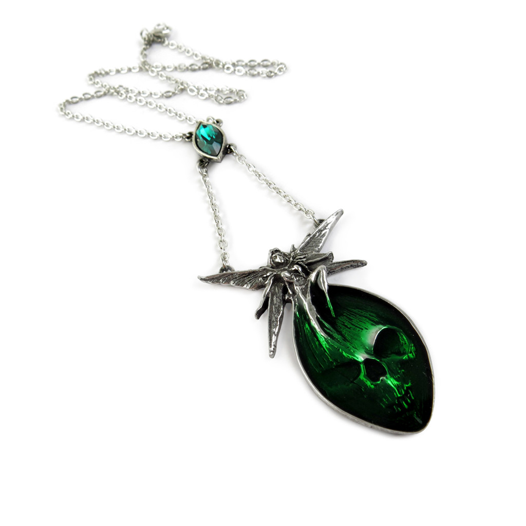 P526 Absinthe Fairy Necklace Alchemy Of England