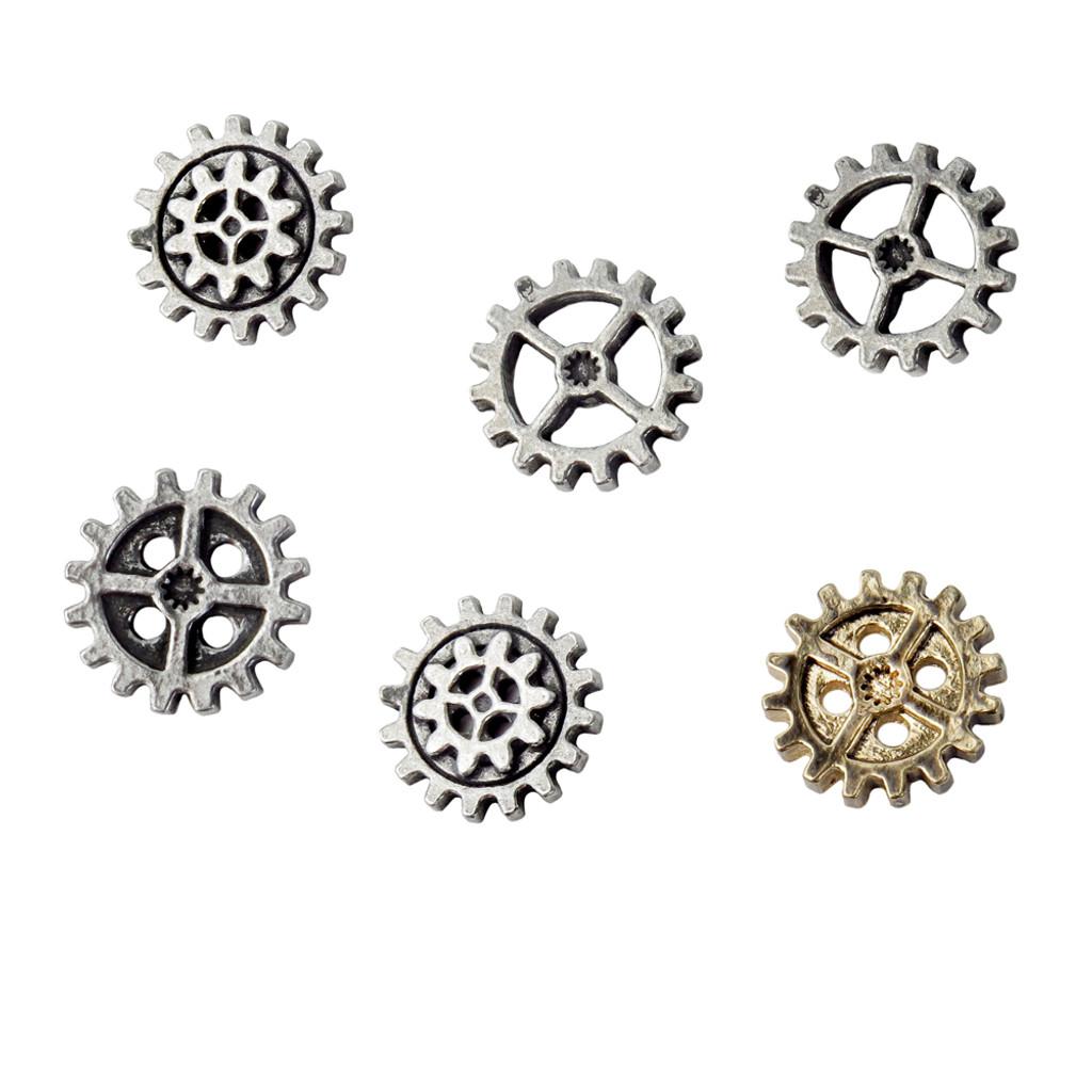 S10 - Gearwheel Buttons - Medium