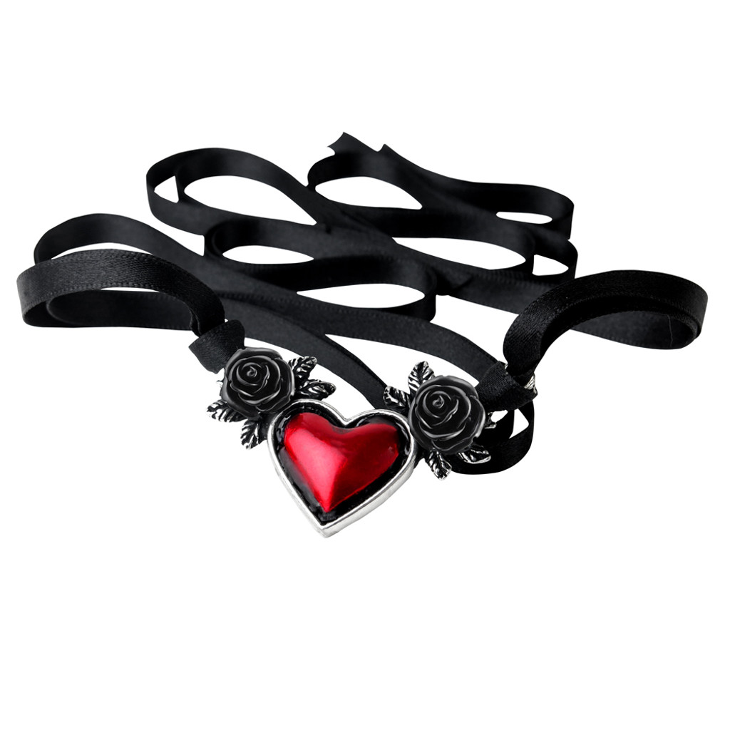 P746 - Blood Heart Necklace