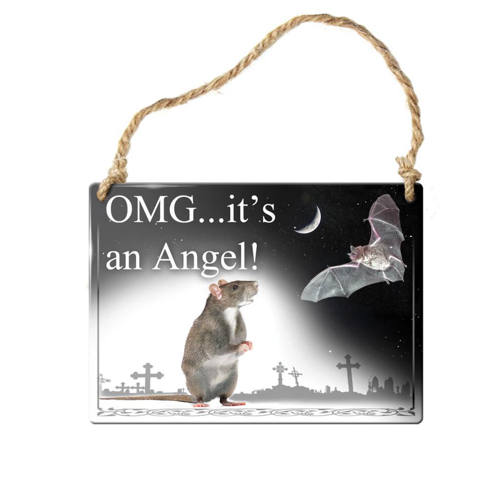 ALHS8 - OMG It's an Angel!  Sign