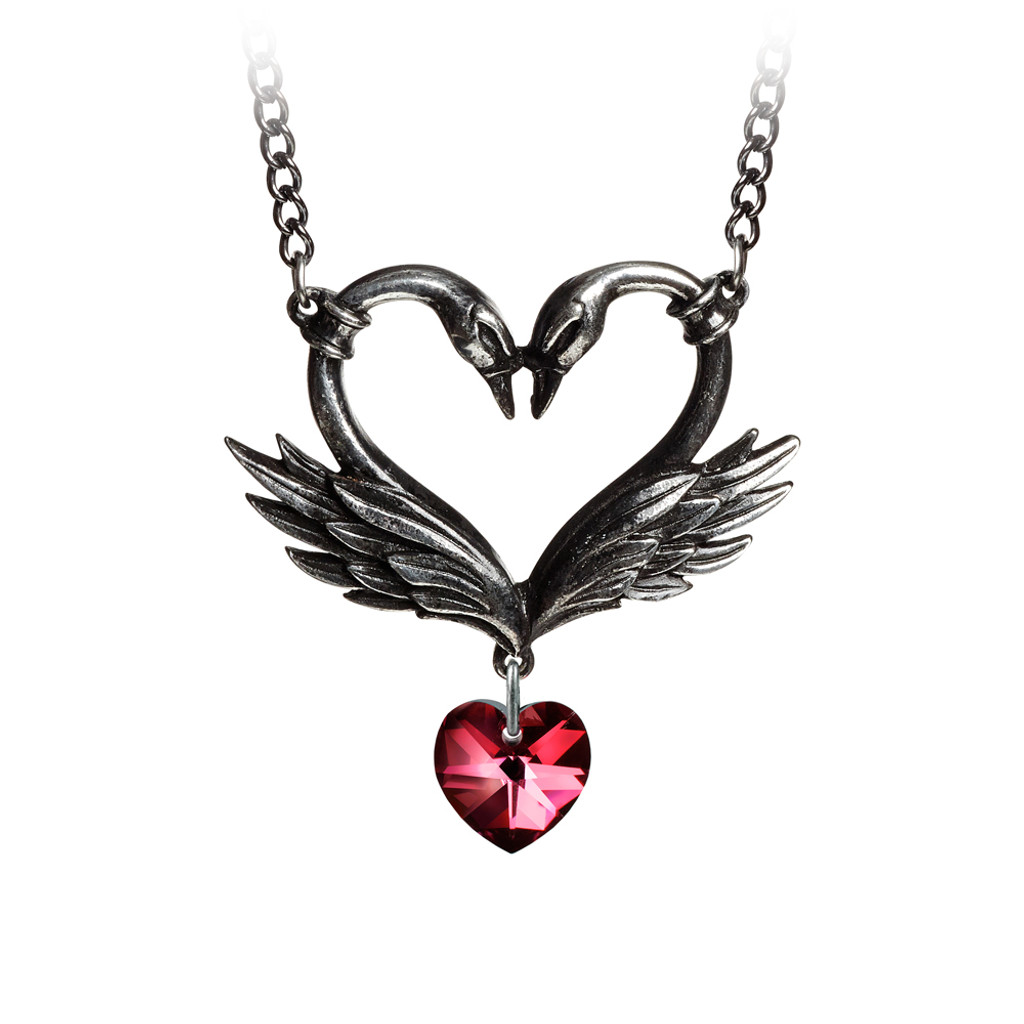 P773 - The Black Swan Romance Necklace