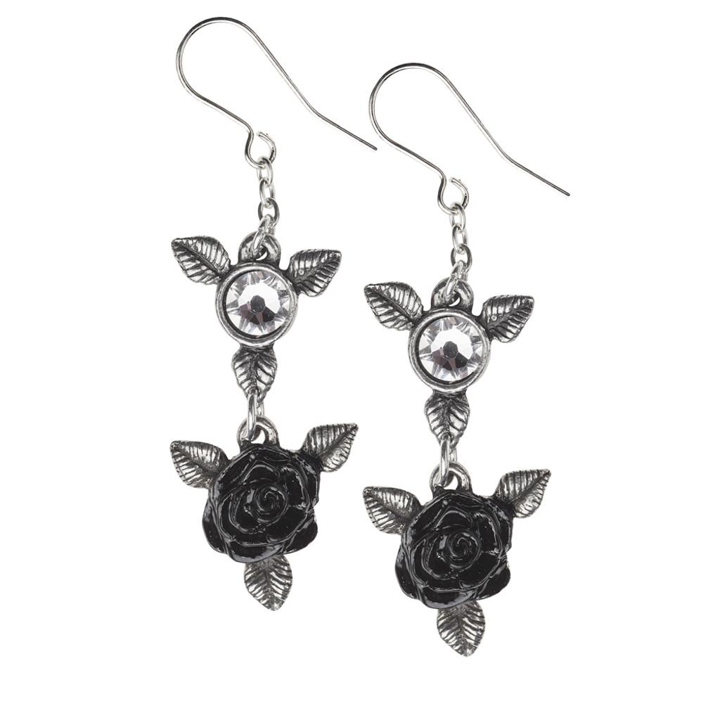 E398 - Ring 'O Roses Earrings