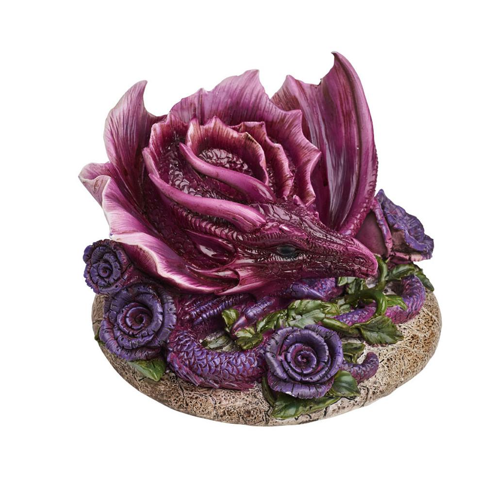 V51 - Rosa Vitrolius Table Ornament