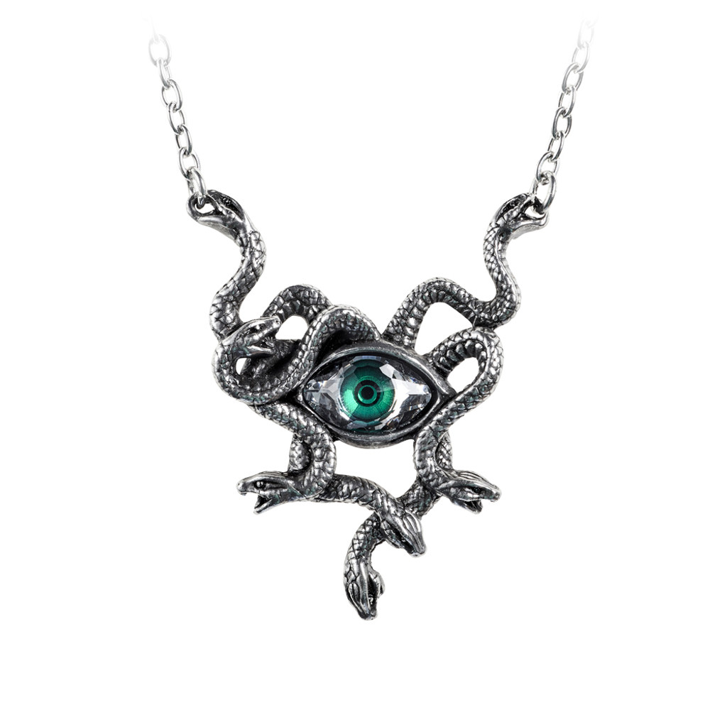 P847 - Gorgons Eye Necklace