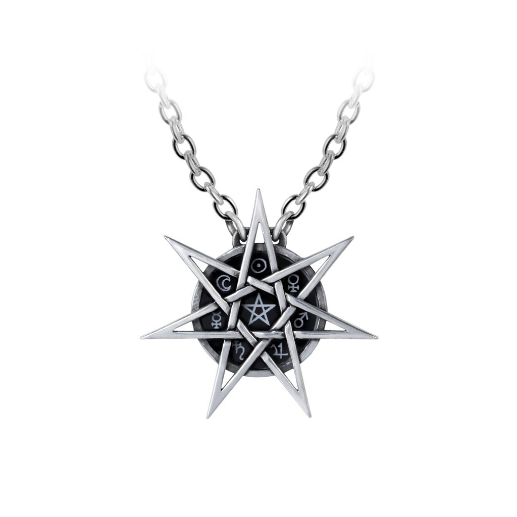 P878 - Elven Star Necklace
