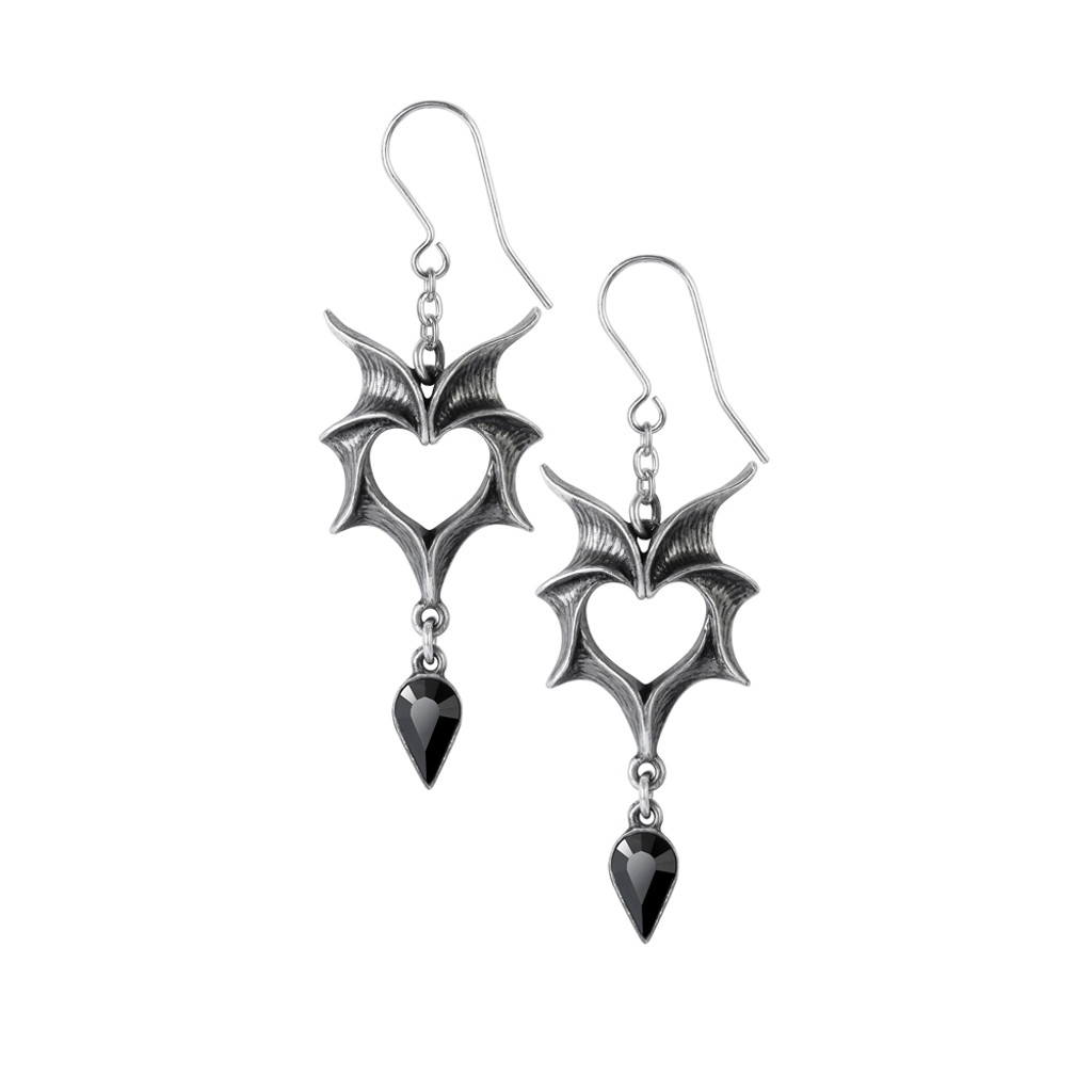E425 - Love Bats Earrings